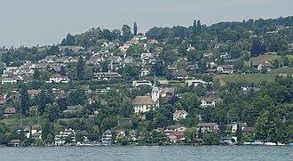 Herrliberg - Herrliberg from across Lake Zurich