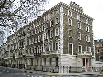 Percival David Foundation of Chinese Art - The former home of the Percival David Foundation in Gordon Square