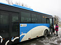 Blue bus for bluer sky.JPG