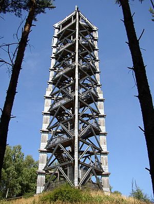 Blumenthal Observation Tower - The tower