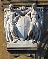 Bncf, facciata, rilievo con stemma sabaudo 01.JPG