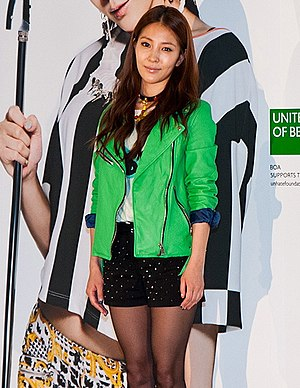 BoA - BoA as Benetton S / S Global Campaign ambassador in March 2013