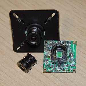 "Camera module - Camera PCB with a 1/3"" Sony CCD"