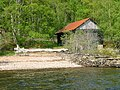 Boathouse and Jetty, Talladh-a-Bheithe - geograph.org.uk - 1892652.jpg