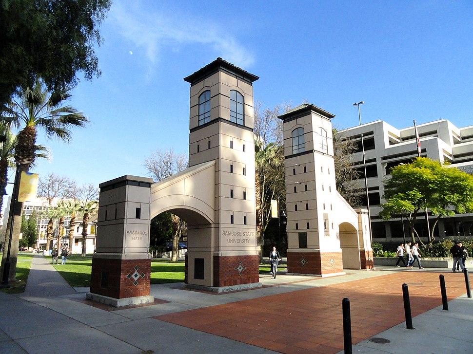 Boccardo Gate (San José State University) - DSC03952