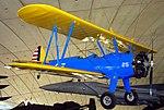 Boeing-Stearman Kaydet, The American Air Museum, Imperial War Museum, Duxford. (22846530978).jpg