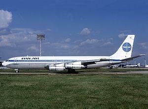 パンアメリカン航空のボーイング707-320