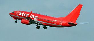 Christen Ager-Hanssen - Sterling Airlines, 737-700.