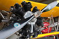 Boeing Stearman with exposed engine at Classic Flyers Museum.jpg