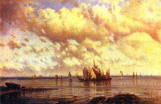 Alexey Bogolyubov - Sailing ships, 1860