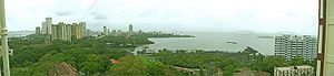 Mumbai Harbour - A view of the harbour looking northwest