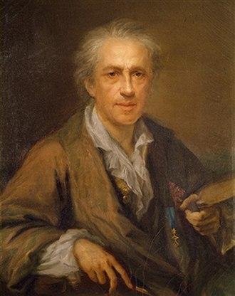 Giuseppe Bonito - Self-portrait