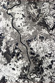 Bonn from the ISS