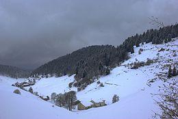 Alpeggio innevato sopra Tinazzo, presso Bosco Chiesanuova nel Parco naturale regionale della Lessinia 2013