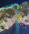 Bosphorus – Bridges and Marmaray in Istanbul.JPG