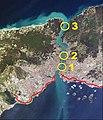Bosphorus – Bridges and Marmaray in Istanbul.JPG