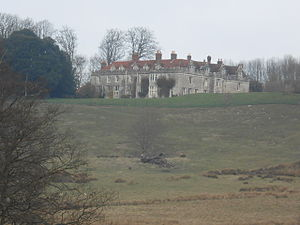 Boughton Monchelsea Place - The house seen from the park looking north-west