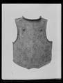 Bröstharnesk till kyrass, Karl X´s tid (1650-tal). Senare omgjort för att bäras utan ryggharnesk - Livrustkammaren - 2272.tif