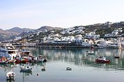 The island of Mykonos is one of the top European tourism destinations.