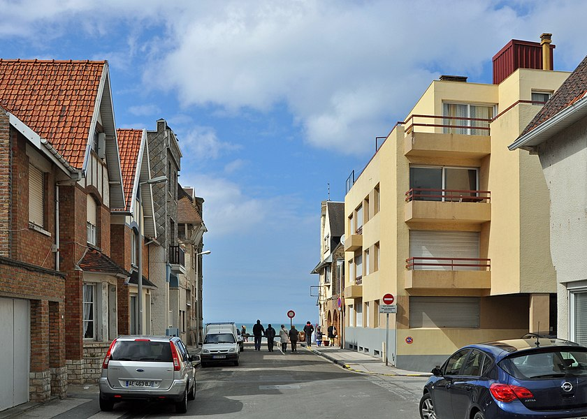 Bray-Dunes (Département du Nord, France): Rue de l'Ancienne Gare (Old Station street)