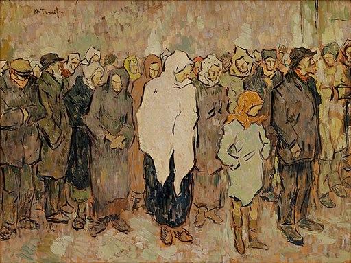 Bread Line Nicolae Tonitza