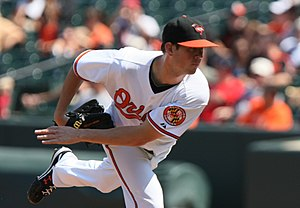 Brian Matusz - Matusz with the Orioles