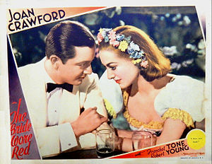 The Bride Wore Red - Image: Bride Wore Red lobby card