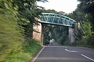 A515 road - Image: Bridge carrying the Tissington Trail across the A515. geograph.org.uk 1454794
