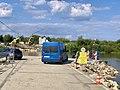 Bridge under construction in Nowy Korczyn, Poland, 2019, 03.jpg