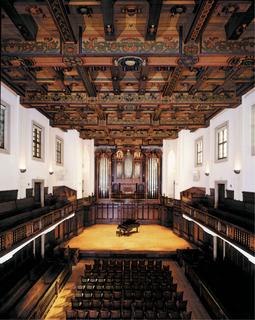 Bridges Hall of Music Concert hall at Pomona College