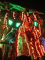 Bridgwater carnival 2017 - Ramblers CC (Halloween in Deadman's Hollow) detail.JPG