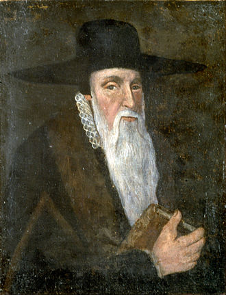 Theodore Beza - Théodore De Beza by an unknown artist, inscribed in 1605