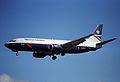 British Airways Boeing 737-400; G-DOCI@LHR;04.04.1997 (4904953642).jpg