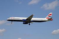 G-MEDF - A321 - British Airways
