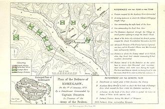 Battle of Koregaon - British defence plan during Battle of Koregaon