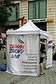 Brno, Masarykova, petiční místo Miloše Zemana (2350).jpg