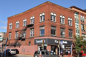 Curtis Building - Image: Brockton MA Curtis Block