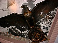 Bronze eagle from the german rechs chancellery