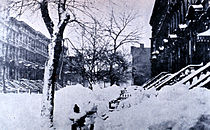 March 11: Great Blizzard of 1888.