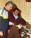 Bruno e Rita Cetto con Johan Stangl.jpg