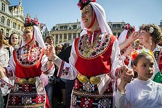 Music of Bulgaria - Bulgarian folk dances in Brussels, Bulgaria's EU Commissioner Kristalina Georgieva initiative