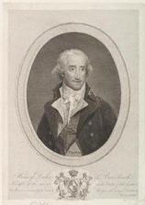 Henry Scott, 3rd Duke of Buccleuch - The Duke of Buccleuch by Philip Audinet, 1798.