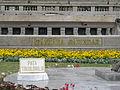Bucuresti, Romania, Cercul Militar National (Ziua Imnului de Stat Desteaptate Romane) (Piata Tricolorului) 2014 (B-II-m-A-19201).JPG