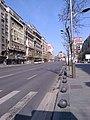 Bucuresti, Romania. Strada Magheru fara oameni la ora 11. 29.03.2020.jpg