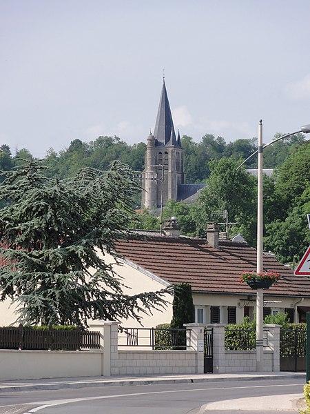 Bucy-le-Long (Aisne) Église Saint-Martin