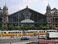 Budapest-Nyugati railway station, built by Eiffel, in 1875. - BudapestGare001.jpg