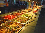Buffet meals at CAHRF, Michoud New Orleans.jpg