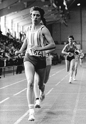 Martina Steuk - Steuk competing at the 1982 East German Indoor Championships