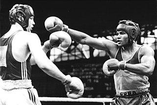 Angel Espinosa Cuban boxer