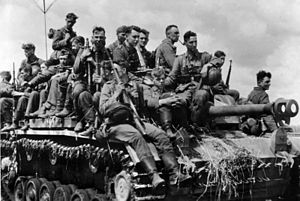 Panzer-Grenadier-Division Großdeutschland - Großdeutschland Division soldiers, Kursk, July 1943